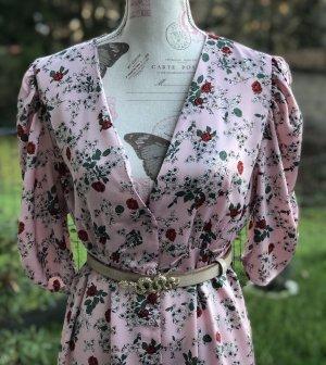 Blumenkleid von Zara / Satin Optik * Neu *