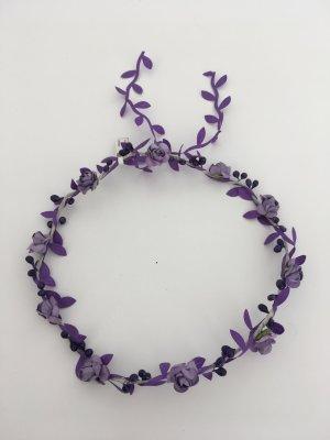 Bijoux pour la tête violet