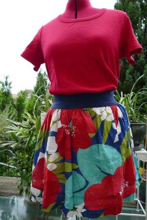Hollister Rozkloszowana spódnica Wielokolorowy Bawełna