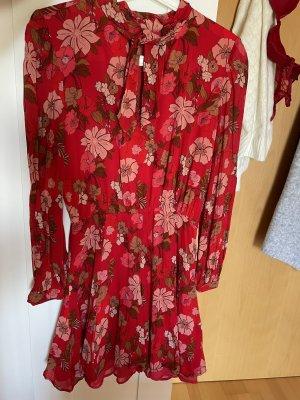 Blumenmusterkleid von Zara