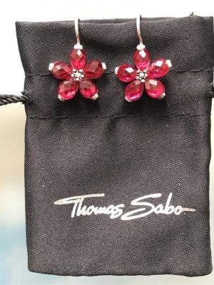 Thomas Sabo Dangle magenta real silver