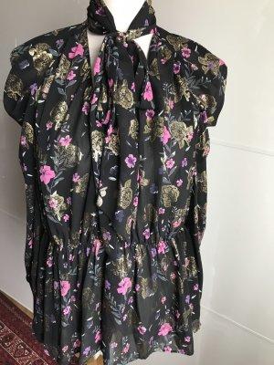 Blumenprint Bluse von Zara