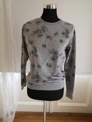 Blumenprint Pullover