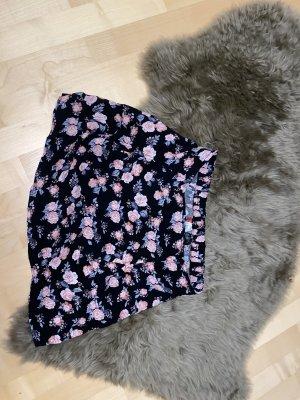 H&M Broomstick Skirt black-pink