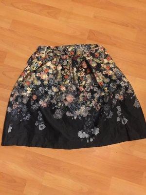 Falda globo multicolor