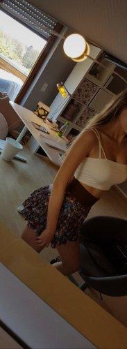 Blind Date Broomstick Skirt brown-blue