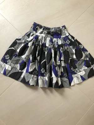 Rut m. fl. High Waist Skirt multicolored cotton