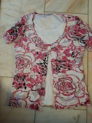 Canda Sweat Shirt white-pink