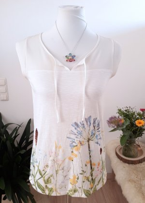 Blumenshirt Esprit Gr. 34 Top Bluse Blumenmuster
