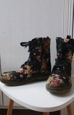 New Yorker Combat Boots black