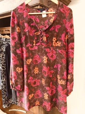 Boden Tunic Blouse multicolored