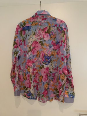 Blumige Bluse Blumenmuster Bunt Vintage