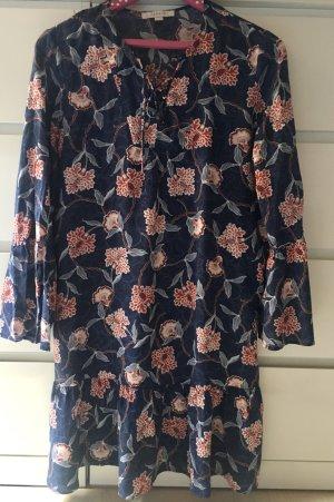 Blumiges Kleid 38