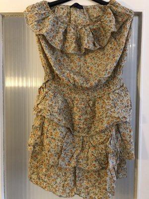 Sukienka bez ramiączek Wielokolorowy