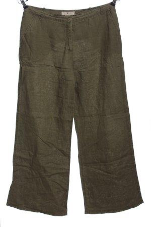 Blunauta Spodnie materiałowe khaki W stylu casual