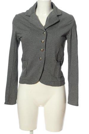 Blunauta Knitted Blazer light grey flecked casual look
