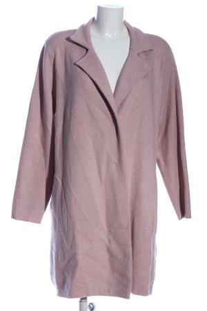 Bluoltre Płaszcz przejściowy w kolorze białej wełny Melanżowy