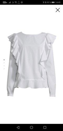 Cotton Candy Shirt Blouse white