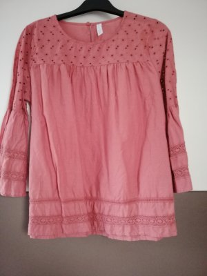 Amisu Kopertowa bluzka różowy