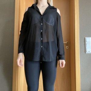 AJC Transparent Blouse black
