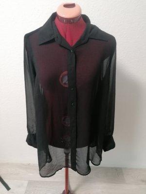 Gina Transparent Blouse black