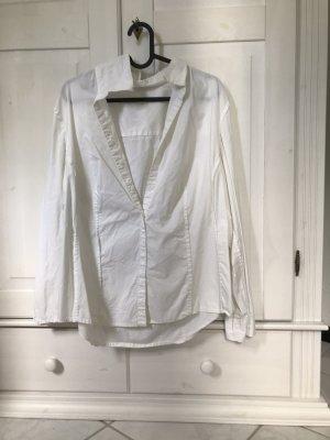 H&M Blouse Carmen blanc