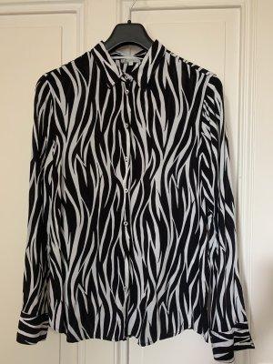 Chelsea Rose NYC Camicia blusa bianco-nero
