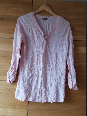 Street One Blouse en crash vieux rose
