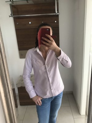 U.s. polo assn. Camicia blusa bianco-rosa