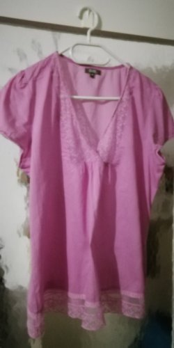 GDM Transparent Blouse light pink
