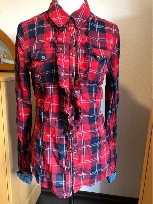 Dept Checked Blouse multicolored