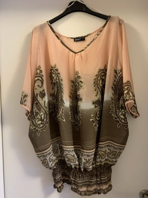 okay Oversized Blouse taupe-apricot