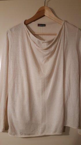 Street One Kopertowa bluzka w kolorze białej wełny