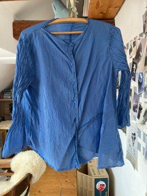 Oska Long Sleeve Blouse cornflower blue