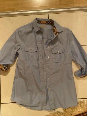 Burberry Kołnierzyk koszulowy baby blue
