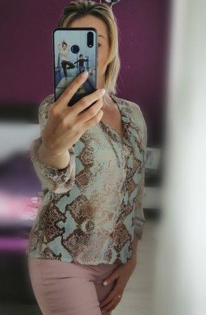 Alba Moda Bluzka z długim rękawem Wielokolorowy Poliester