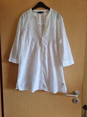 Bonita Blusa trasparente bianco