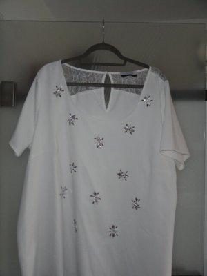 Guido Maria Kretschmer Short Sleeved Blouse white
