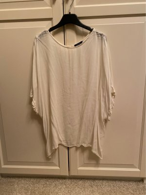 Boohoo Crash Blouse natural white