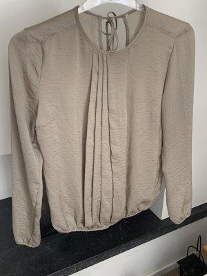 Beate Heymann Streetcouture Glanzende blouse camel