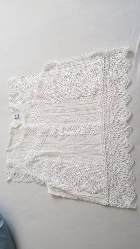 Chicwish Blusa senza maniche bianco