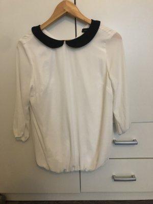 Colletto camicia bianco-nero