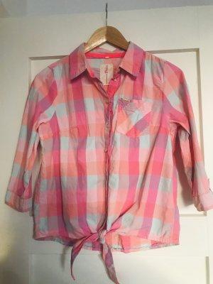 Tom Tailor Denim Geruite blouse veelkleurig