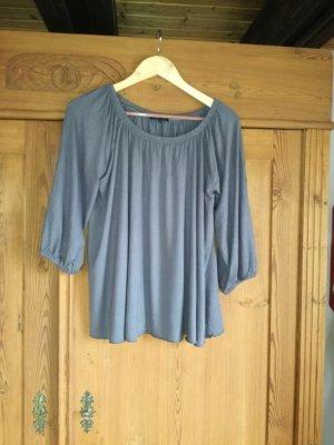Vestino Camicetta a blusa grigio ardesia