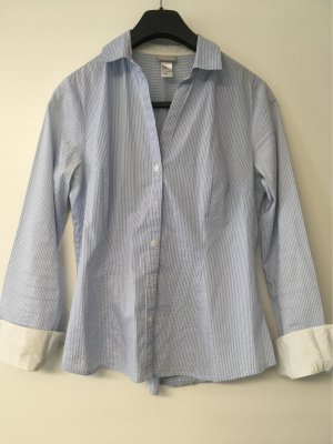 H&M Crash Blouse white-azure