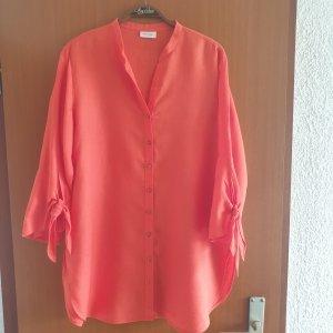 Gerry Weber Linen Blouse bright red linen