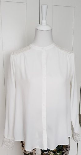 C&A Yessica Bluzka z długim rękawem biały-w kolorze białej wełny
