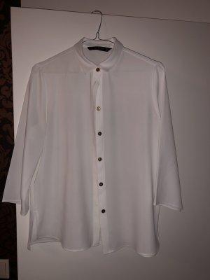 Zara Blouse Collar white