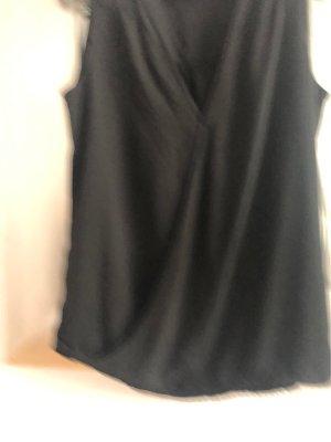 Blusa cruzada negro