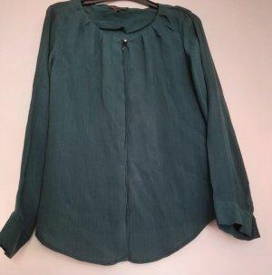 Second Female Blusa de manga larga verde oscuro